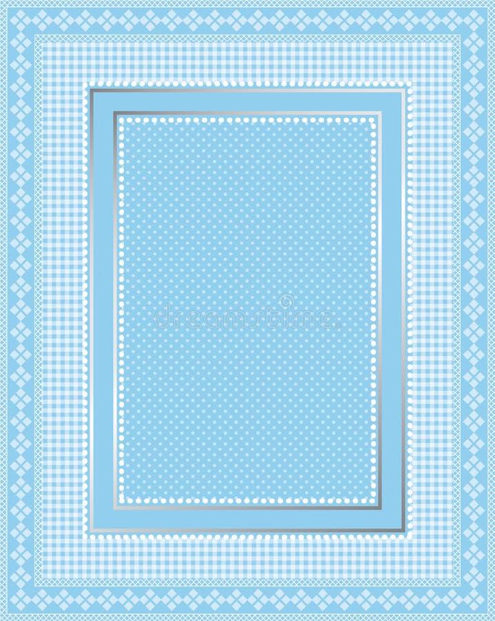 Elegant Lace Frame stock illustration