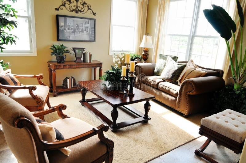 Elegant Living Room Stock Photo