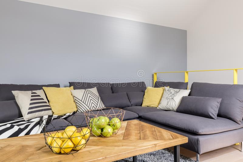 Elegant living room interior royalty free stock images