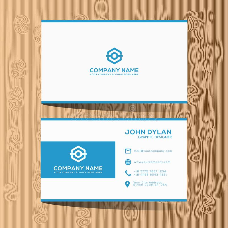 Modern And Luxury Business Card Template Premium Stock Vector ...