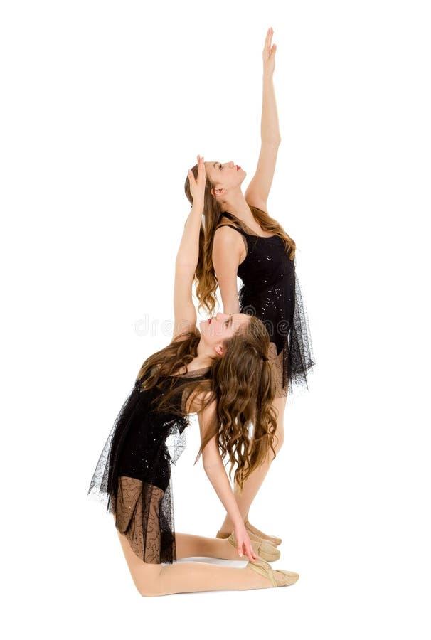 Free Elegant Lyrical Dance Duo Royalty Free Stock Images - 43498399