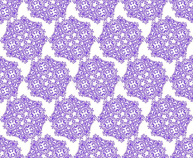 Elegant lyxig textur för tapeter, bakgrunder och sidan fyller stock illustrationer