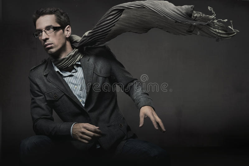 Elegant man royalty free stock photo