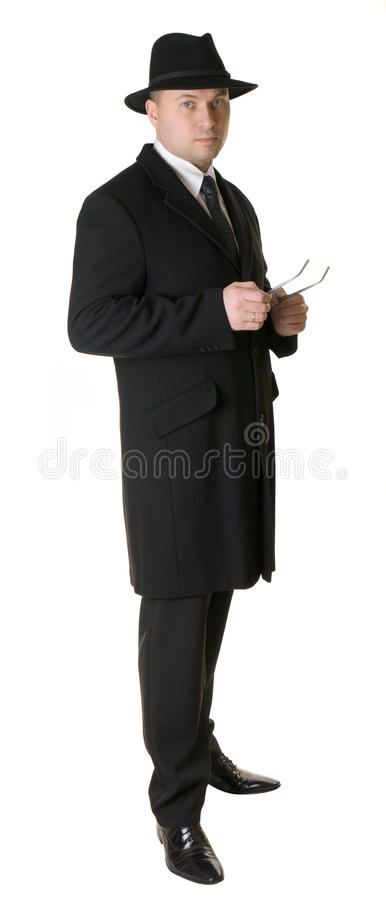 Elegant man. royalty free stock images