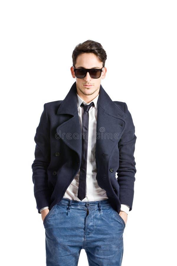 elegant man royaltyfri foto