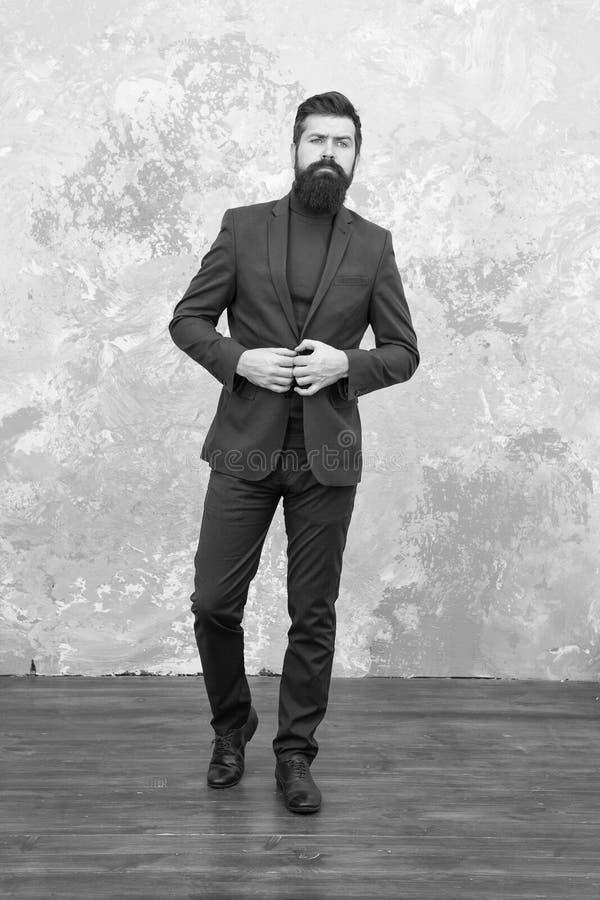 Elegant man with beard. Modern life. Male elegant fashion model. Mature elegant businessman walking. Tailor or fashion stock images