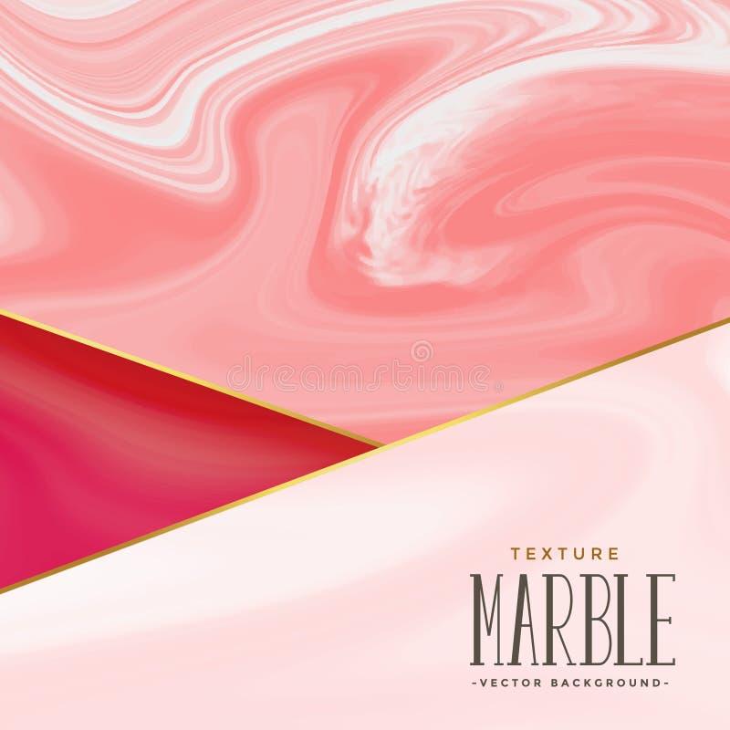 Elegant marble texture vector background stock illustration