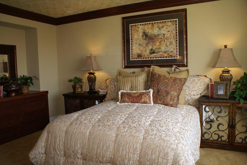 Elegant Master Bedroom stock photography