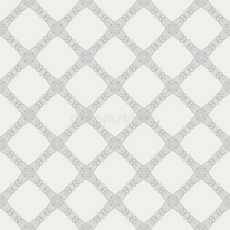 Elegant medieval tartan vector pattern. Hand drawn linear simple and elegant tartan art deco pattern with barely visible grey-silver lines, website background or vector illustration