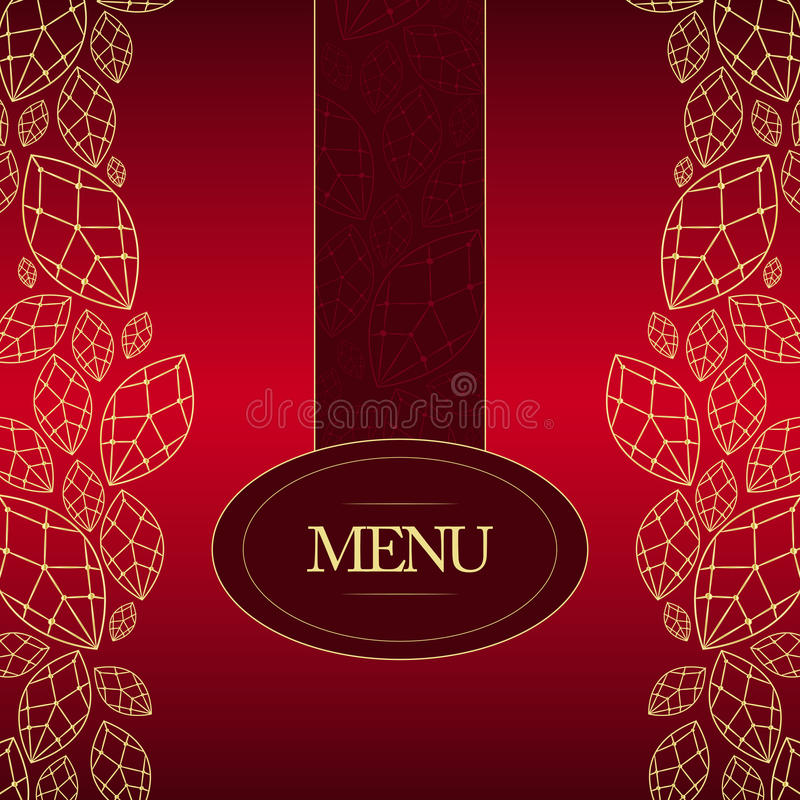 Download Elegant Menu stock vector. Illustration of kitchen, eating - 27610294