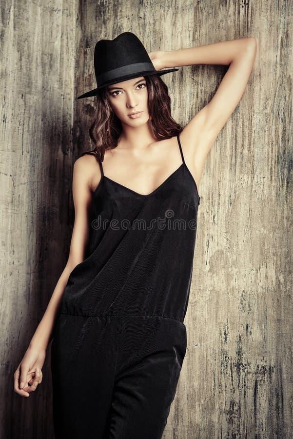 Elegant model stock foto's