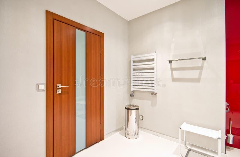 Elegant modern bathroom stock photos