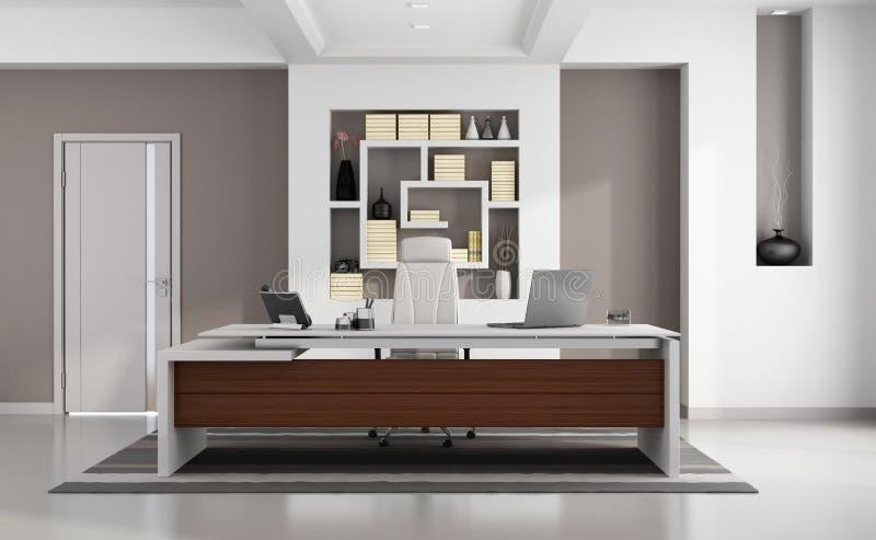 Elegant modernt kontor vektor illustrationer