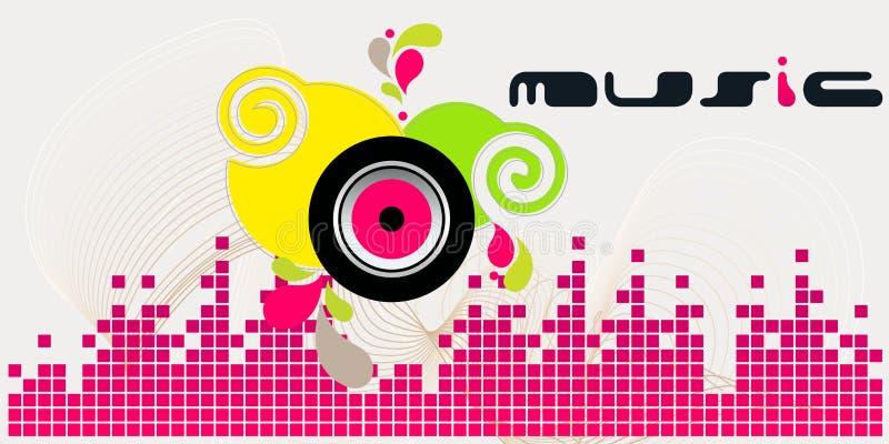 Download Elegant music background stock vector. Image of copy - 17332416