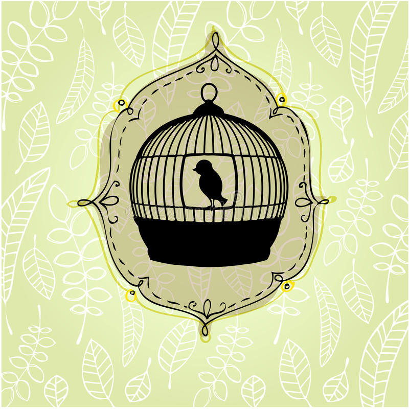 Elegant nature background royalty free illustration