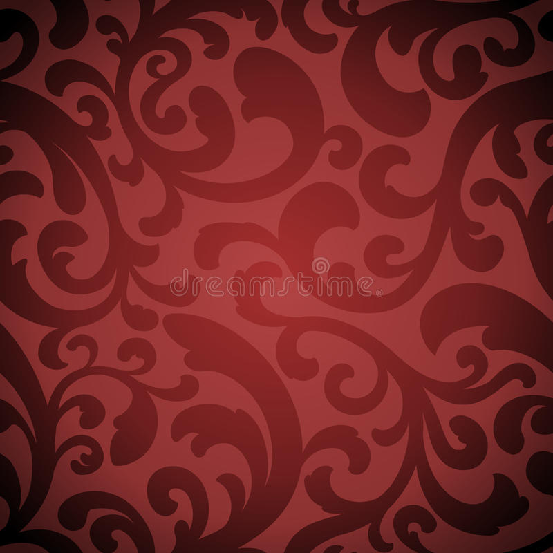 Elegant Organic Seamless Background vector illustration