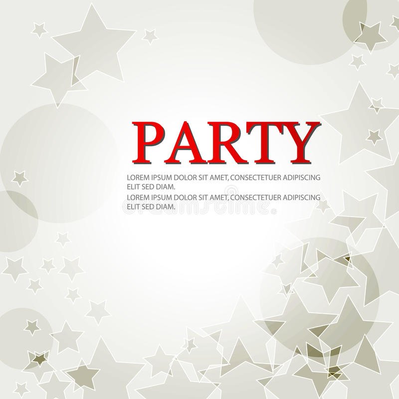 Download Elegant Party Background With Stars Stock Vector - Image: 17782162