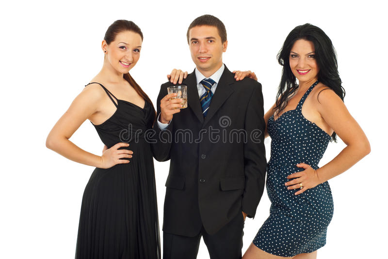 Download Elegant party people stock photo. Image of look, holding - 20162446