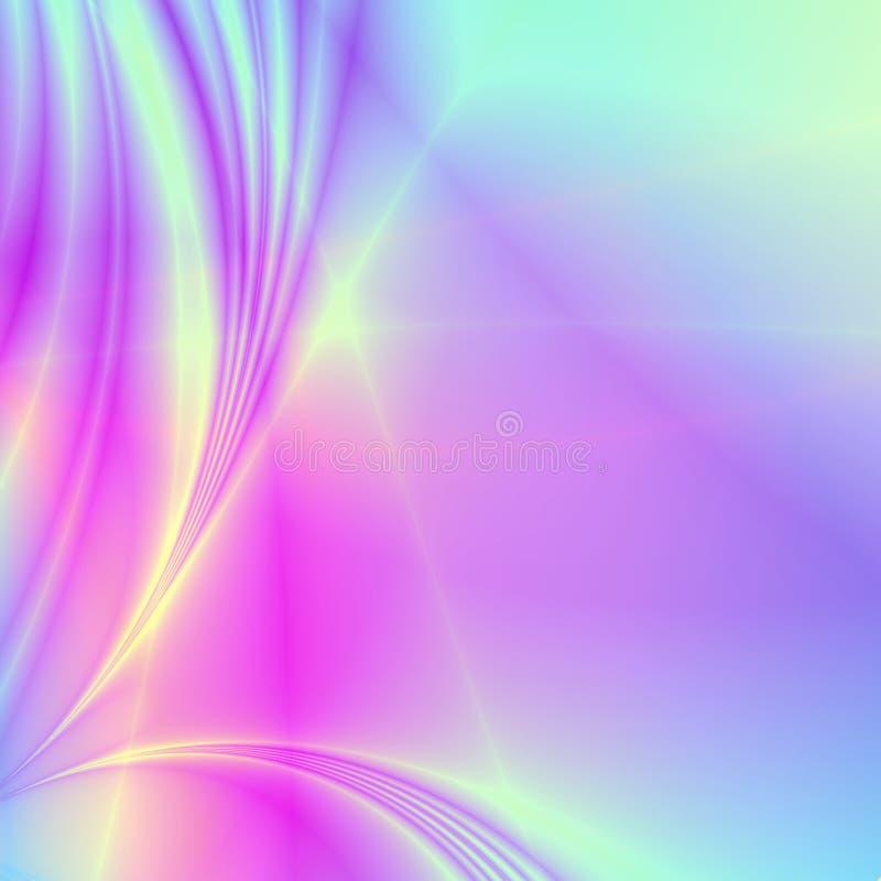 elegant pastellfärgad wallpaper för bakgrund stock illustrationer