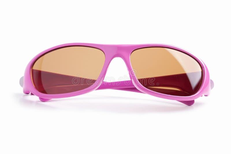 Download Elegant Pink-rimmed Glasses Stock Image - Image of studio, frames: 25095187