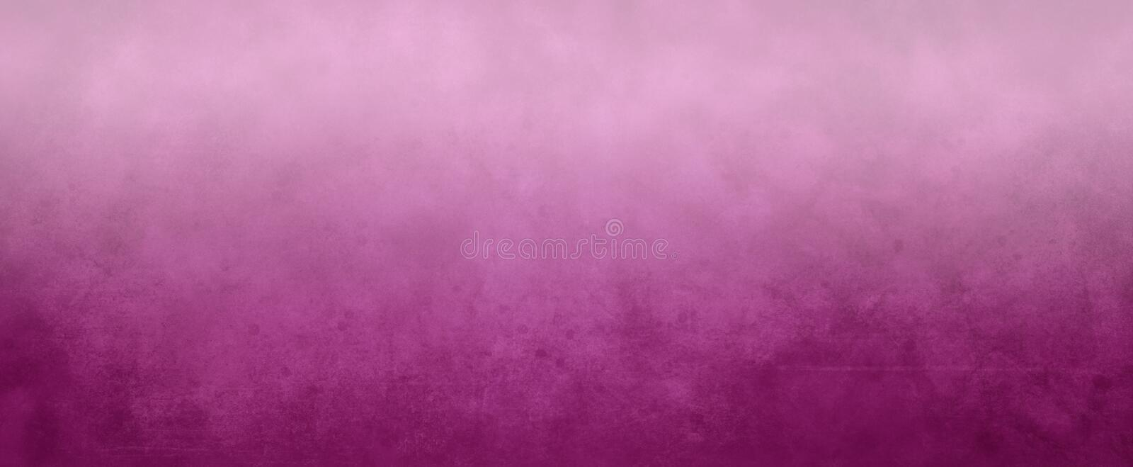 Pink textured background with soft foggy white gradient blur on top, border, has faint scratch texture and light blurry design. Elegant pink textured background royalty free illustration