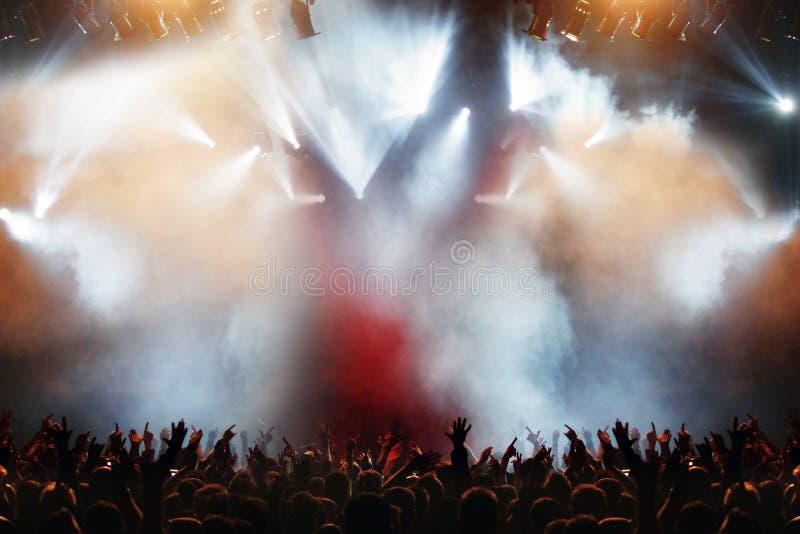 Elegant pop concert royalty free stock images