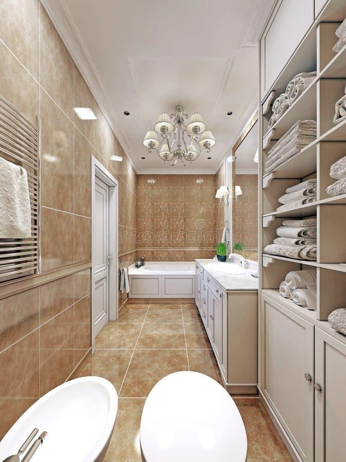 download elegant provence bathroom design stock image image 59222785 - Multi Bathroom Design