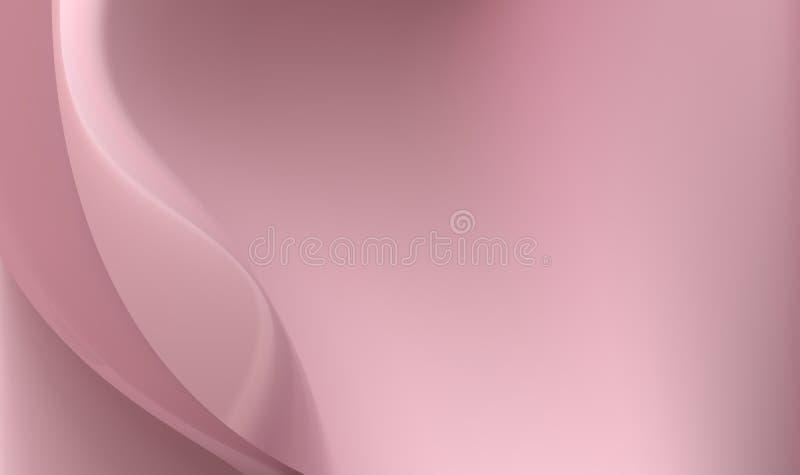 Elegant purpurfärgad siden- bakgrund skimrar med ljus, och mörker vinkar Sexuellt flöda för material vektor illustrationer