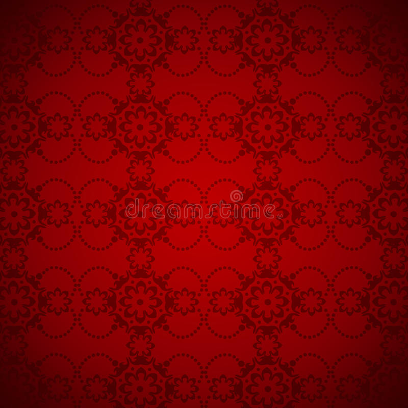 Download Elegant Red Background Pattern Stock Illustration - Illustration: 10939643