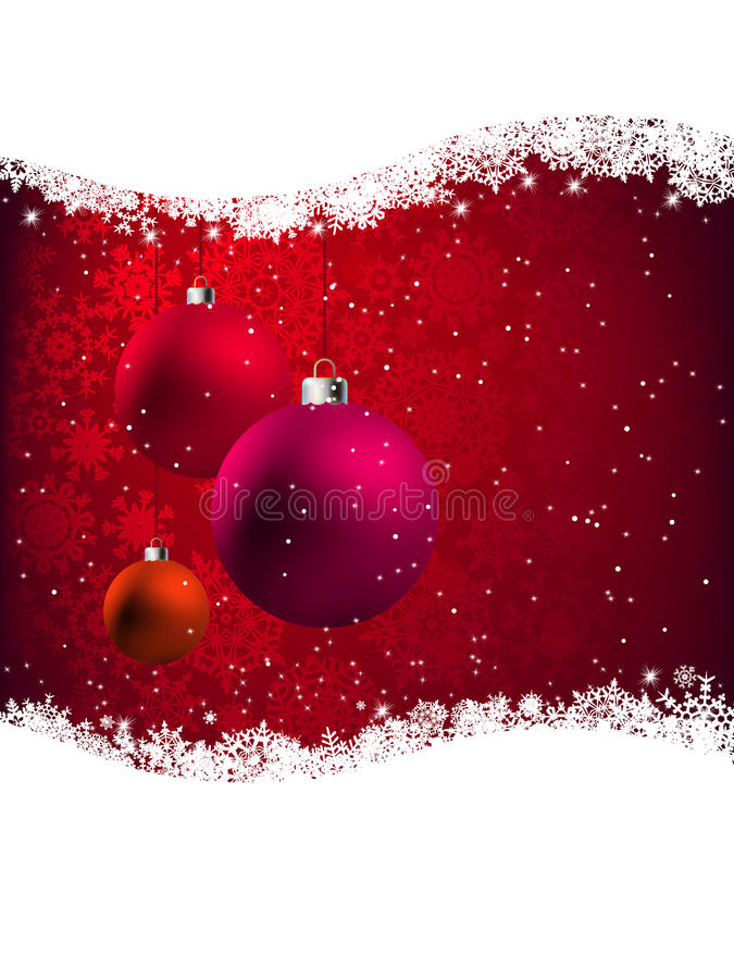 Download Elegant Red Christmas Card. EPS 8 Stock Photo - Image: 17085520