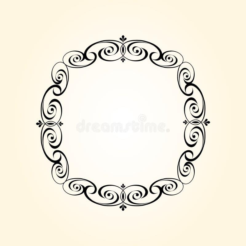 Elegant  retro frame  your projects.Vector illustration. vector illustration