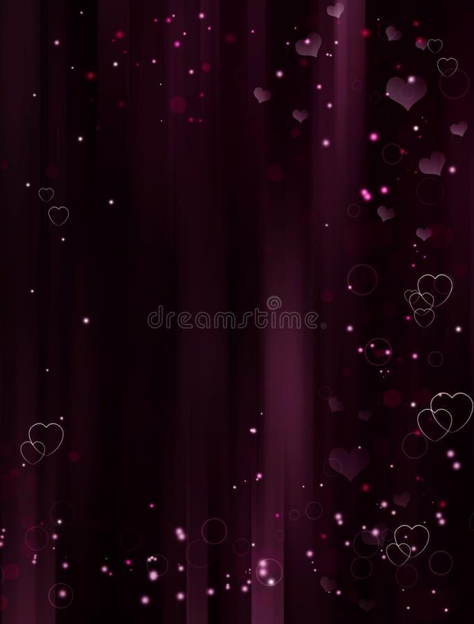 Elegant romantisk bakgrund stock illustrationer