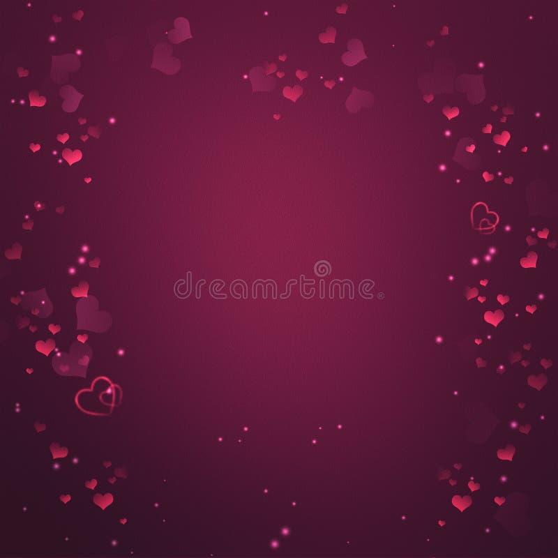 Elegant romantisk bakgrund vektor illustrationer