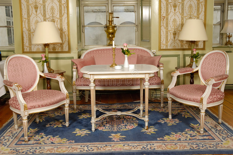 Elegant room stock image