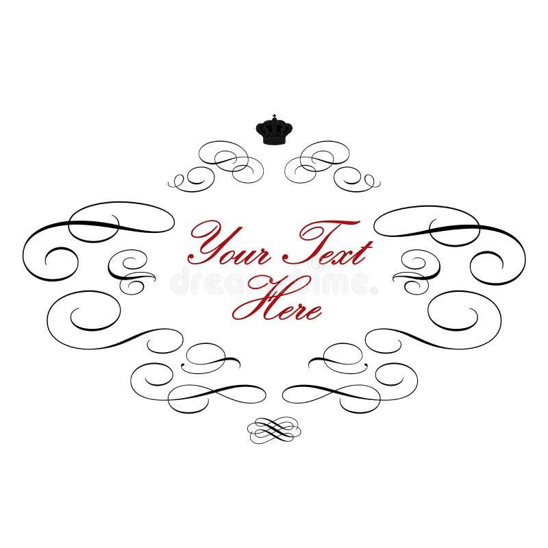 Elegant Royal Logo Royalty Free Stock Photos