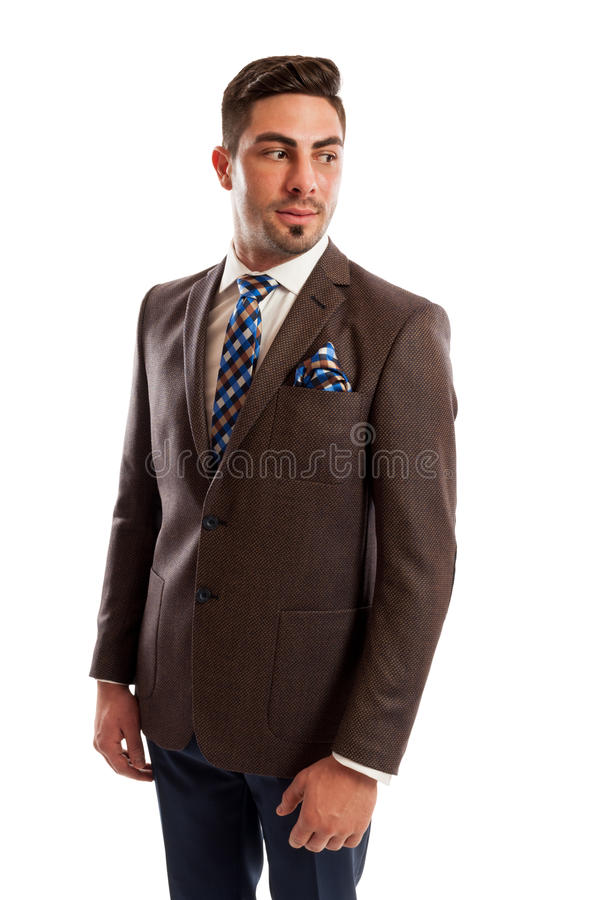 Free Elegant Sales Man Looking On One Side Stock Photography - 50289112