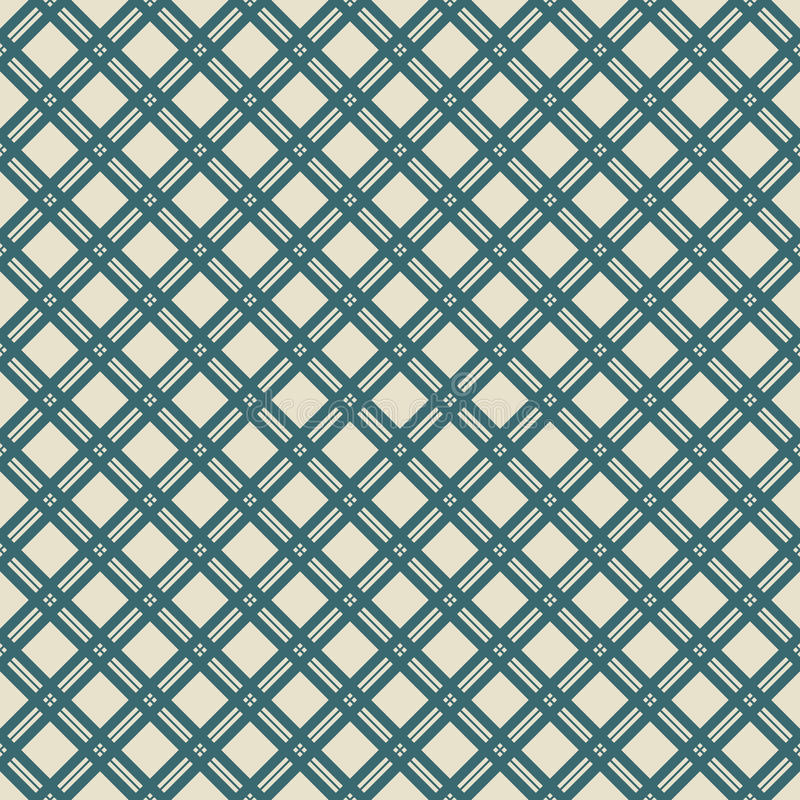 Elegant seamless pattern. Retro blue and white colors. Endless texture can be used for printing onto fabric and paper, scrap booking. Abstract pretty chic vector illustration