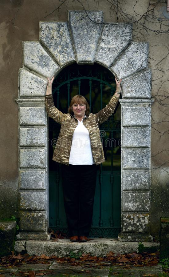Download Elegant Senior Lady Portrait Stock Image - Image of caucasian, graceful: 14291365