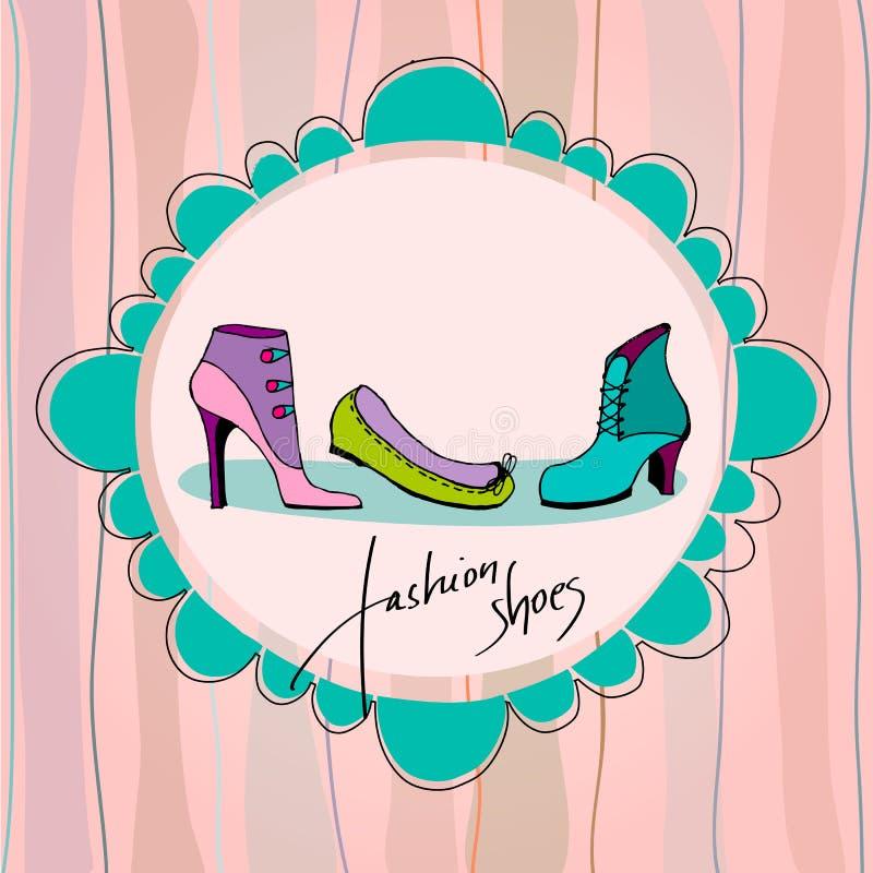 Download Elegant shoes stock vector. Illustration of footwear - 25362129