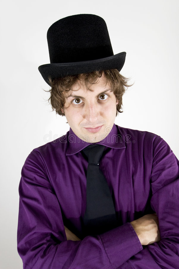 Download Elegant Show Man Looking At You Stock Photo - Image: 6750674
