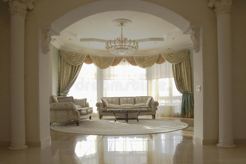 Download Elegant sitting room stock image. Image of room, stately - 17953793