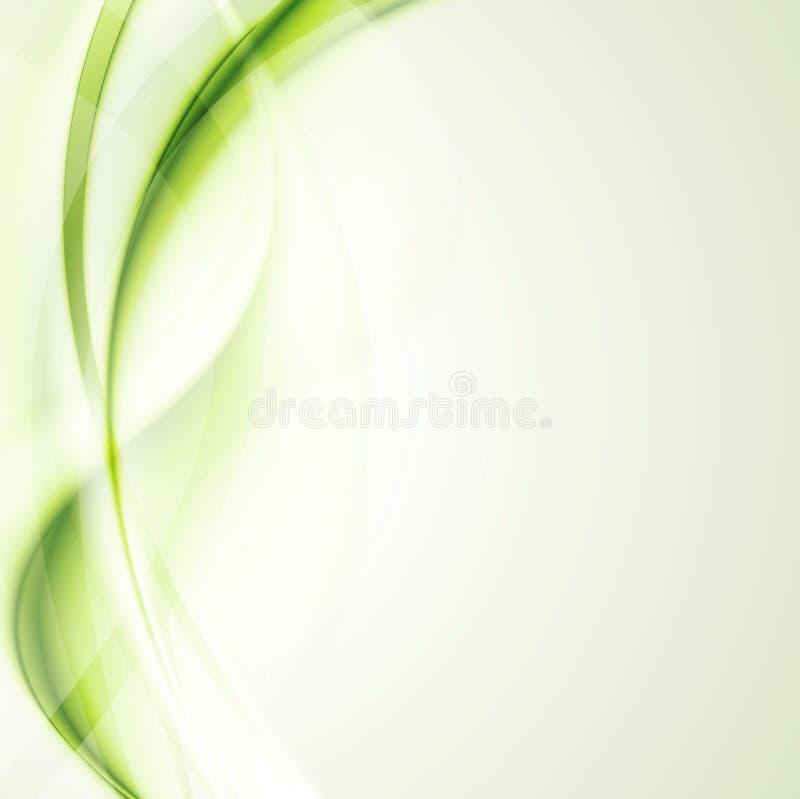 Elegant skinande vågbakgrund vektor illustrationer