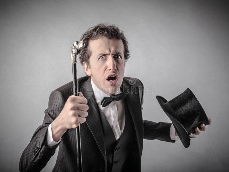 Download Elegant Smart Man With A Surprised Expression Stock Image - Image of elegant, concept: 39501421