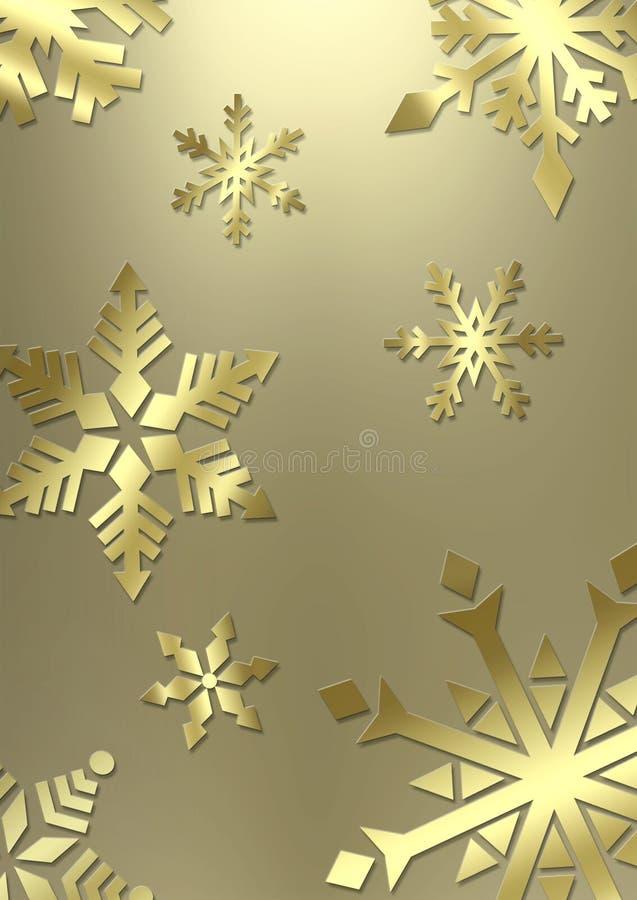 Elegant snowflake background stock photo