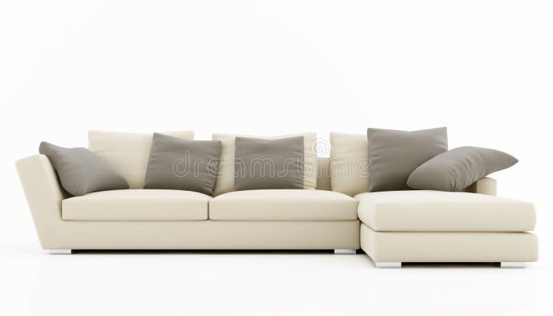 Elegant sofa stock photo