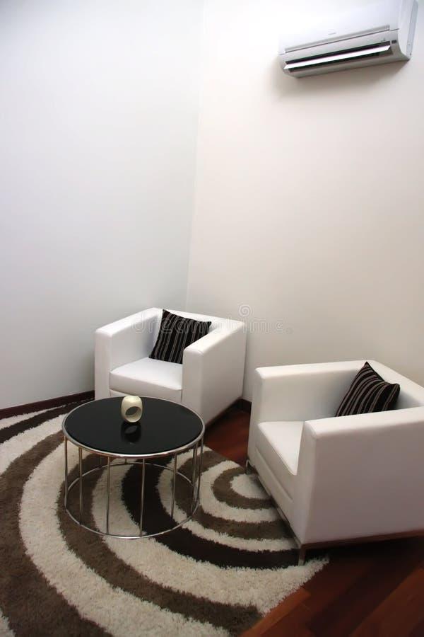 Elegant sofas stock photo