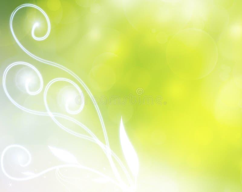 Elegant sommarbakgrund royaltyfri illustrationer