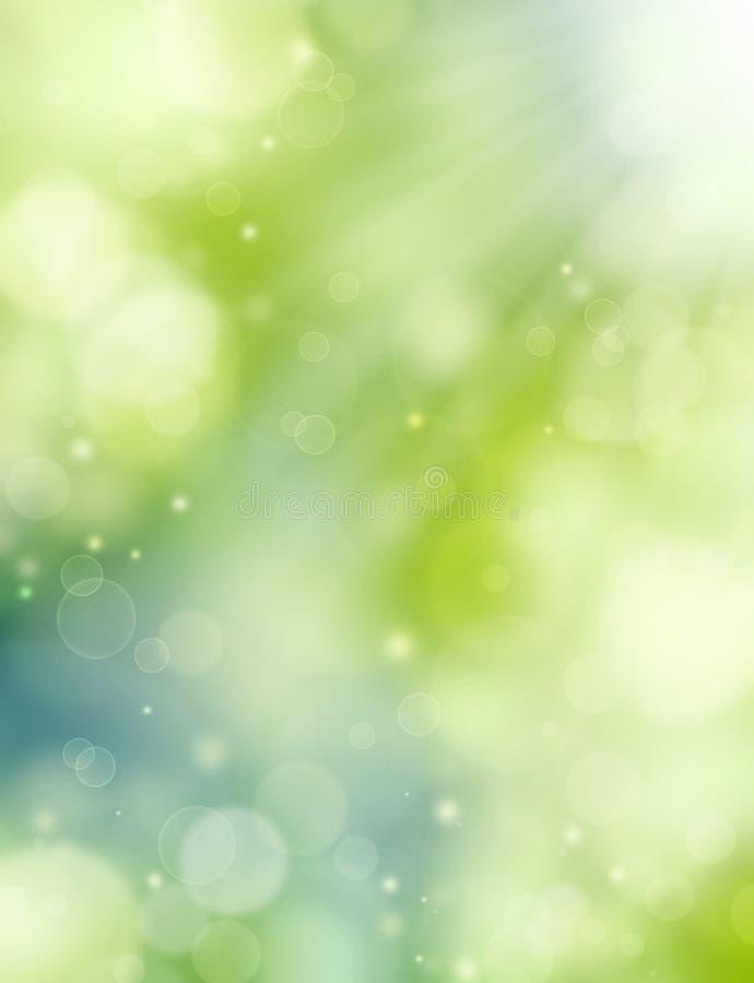 Elegant sommarbakgrund vektor illustrationer