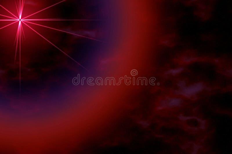 Elegant space background. vector illustration