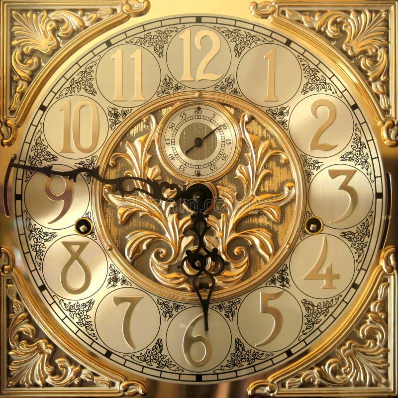 Elegant staand horlogegezicht royalty-vrije stock afbeeldingen
